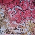 1.5 Jardin de givre (detail) - 2008 - encre et plume feutre