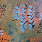 2.1 Entre les clotures (detail 1) - gouache  plume feutre - 40cm X 32cm