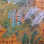 2.1 Entre les clotures (detail 2) - gouache  plume feutre - 40cm X 32cm