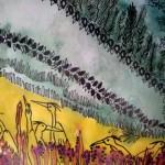 3.1 sans titre (detail 2) - aquarelle et plume feutre - vendu